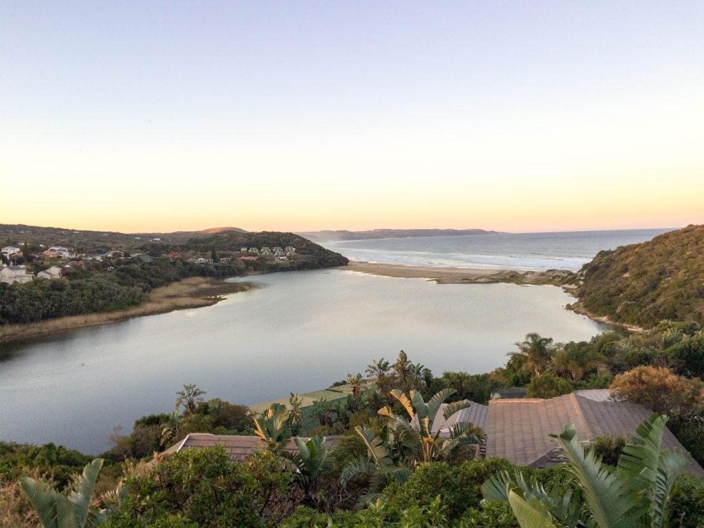 Chintsa river beach Indian Ocean South Africa