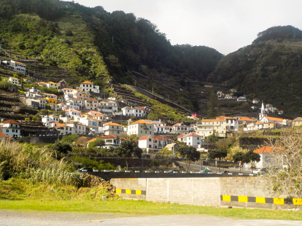 Madeira Portugal Europe roads hilly island Porto Moniz