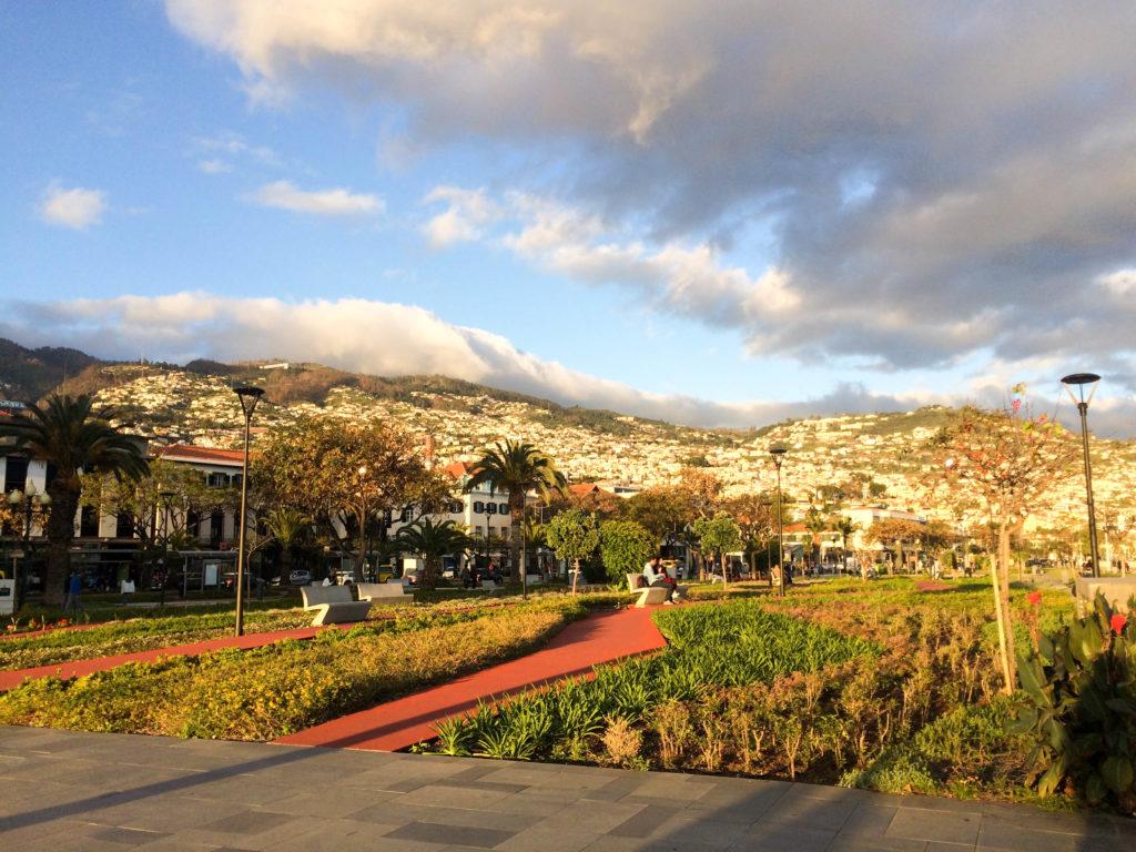 Madeira Portugal Europe island Funchal seaside promenade