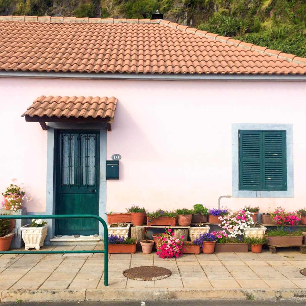 Madeira Portugal Europe island Madalena do Mar village