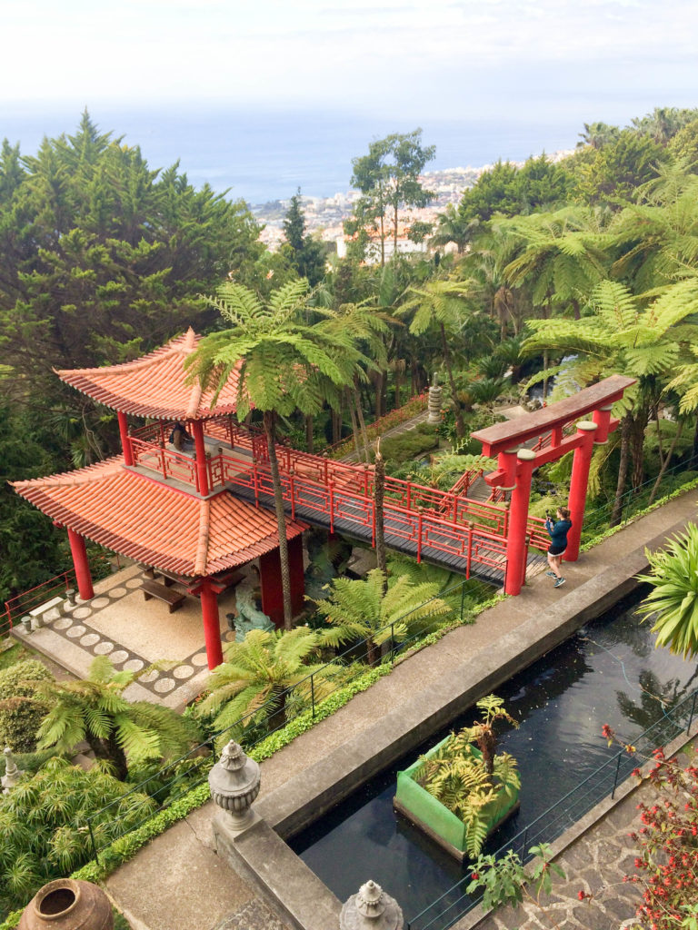 Madeira Portugal Europe island Monte Palace Tropical Gardens