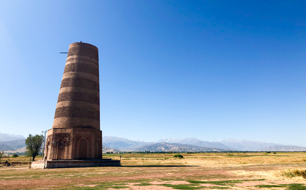 Burana Tower Kyrgyzstan Central Asia UNESCO World Heritage Site