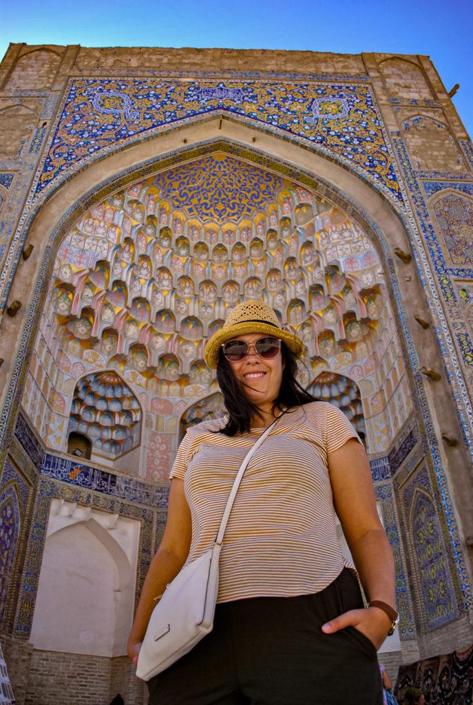 Abdulaziz Khan Madrasah Bukhara Uzbekistan Central Asia Vanja Vodenik
