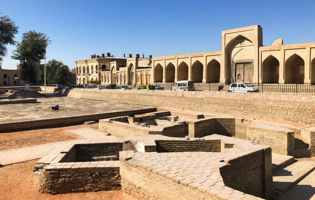 Caravanserai Bukhara Uzbekistan Central Asia