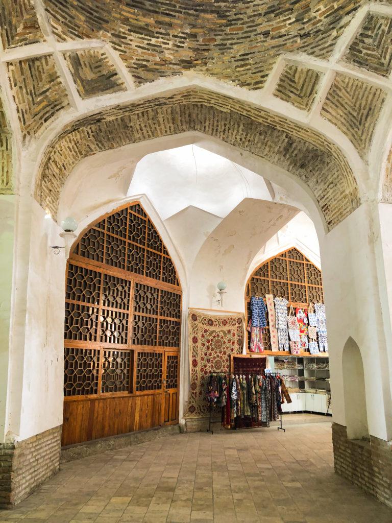 Trading Dome Bukhara Uzbekistan Central Asia