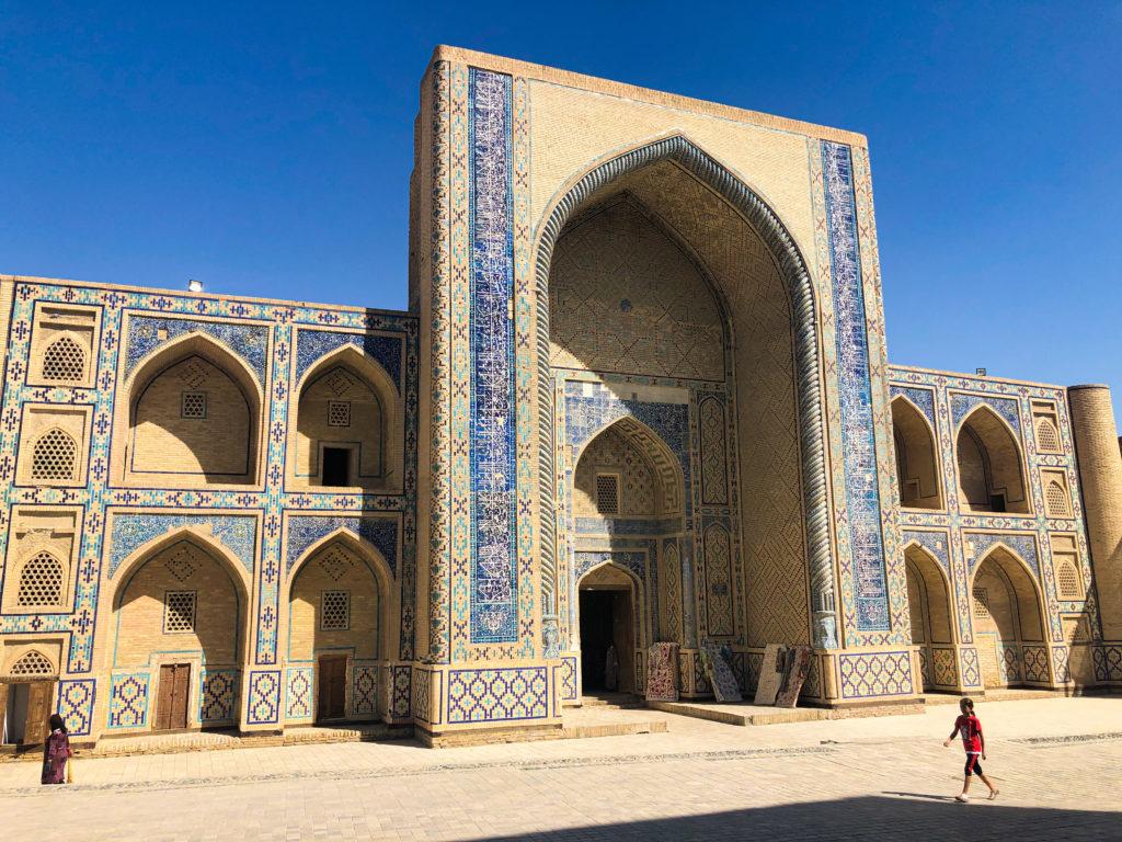 Ulugbek Madrasah Bukhara Uzbekistan Central Asia