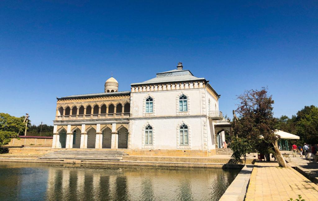Sitori-i-Mokhi Khosa palace Bukhara Uzbekistan Central Asia
