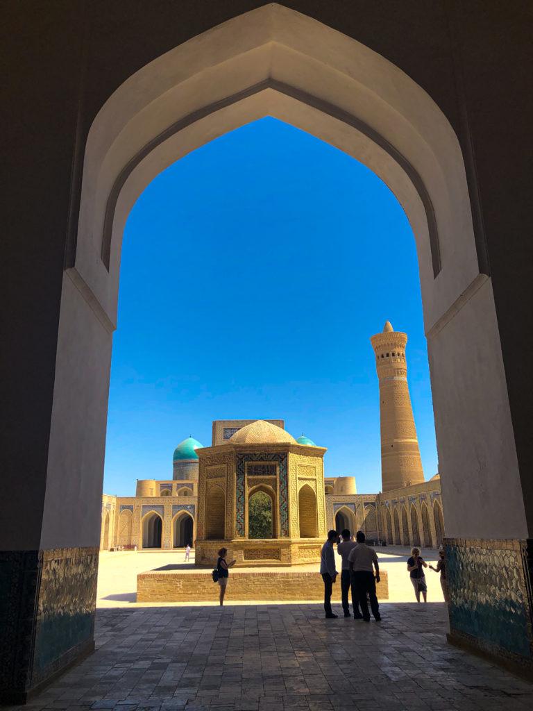 Kalayan Mosque Bukhara Uzbekistan Central Asia