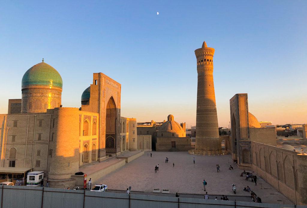 Po-i-Kalyan ensemble Bukhara Uzbekistan Central Asia