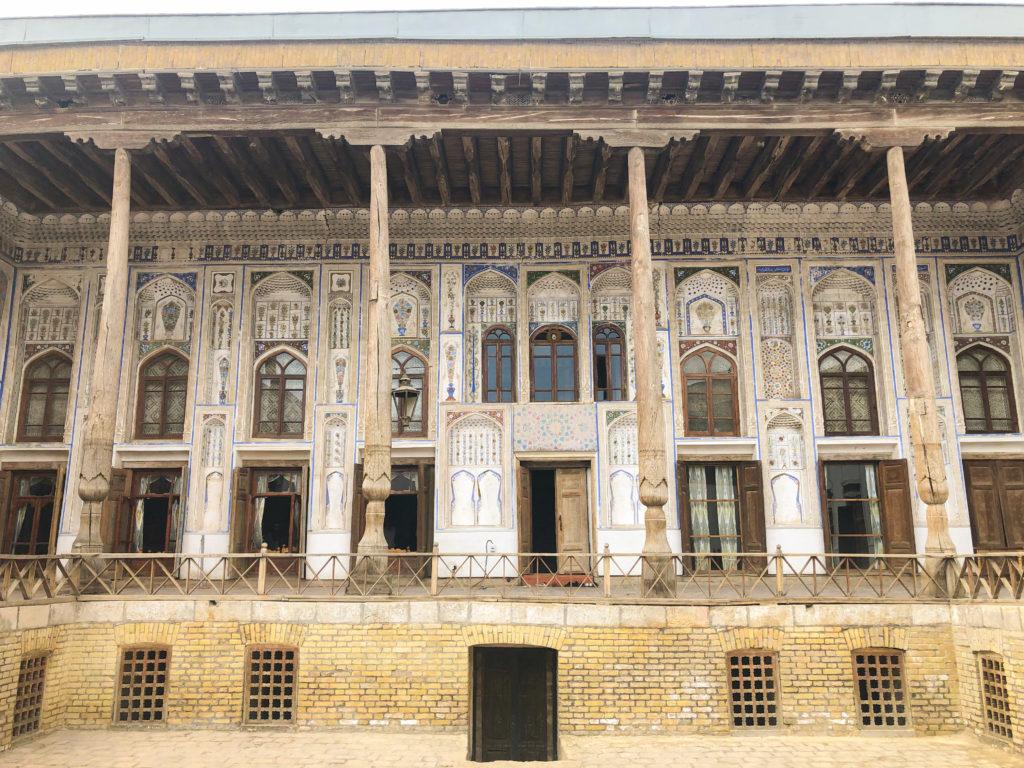 Fayzulla Khodjaev house Bukhara Uzbekistan Central Asia