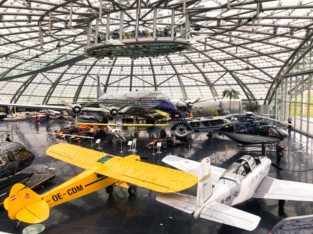 Flying Bulls aircraft Hangar-7 Salzburg Austria Europe