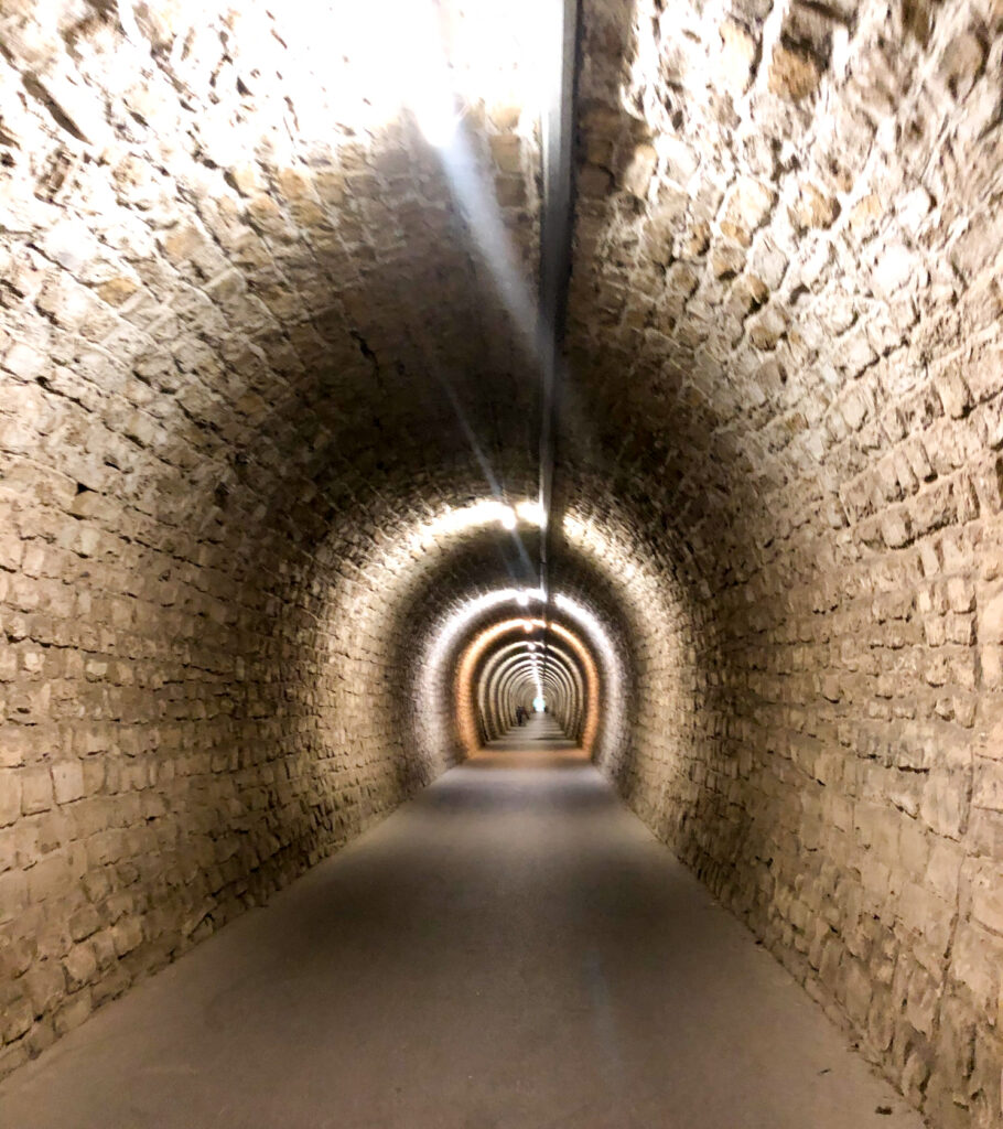 Tunnel Valeta Portorož Slovenia Europe