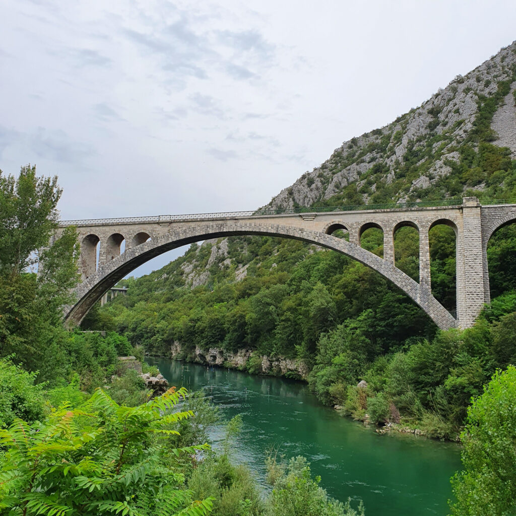 Solkan Bridge Slovenia Europe