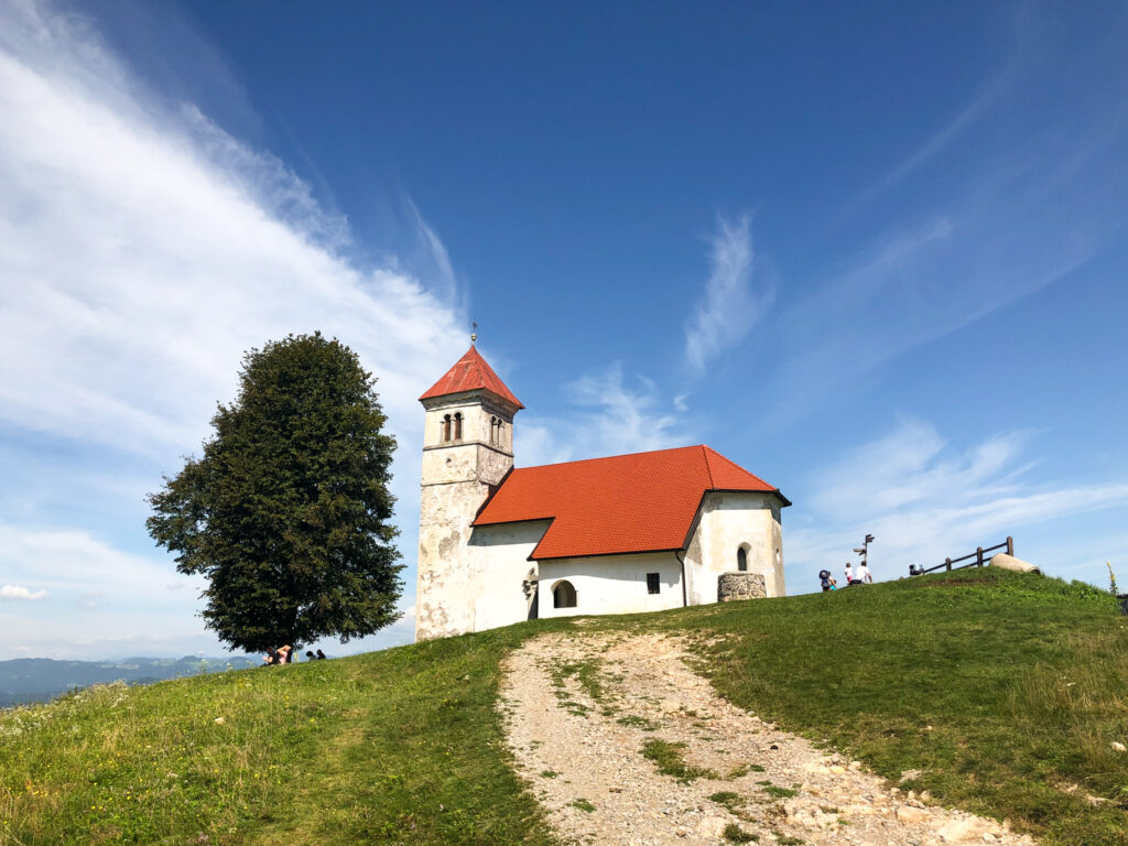 St. Anne Hill Slovenia Europe