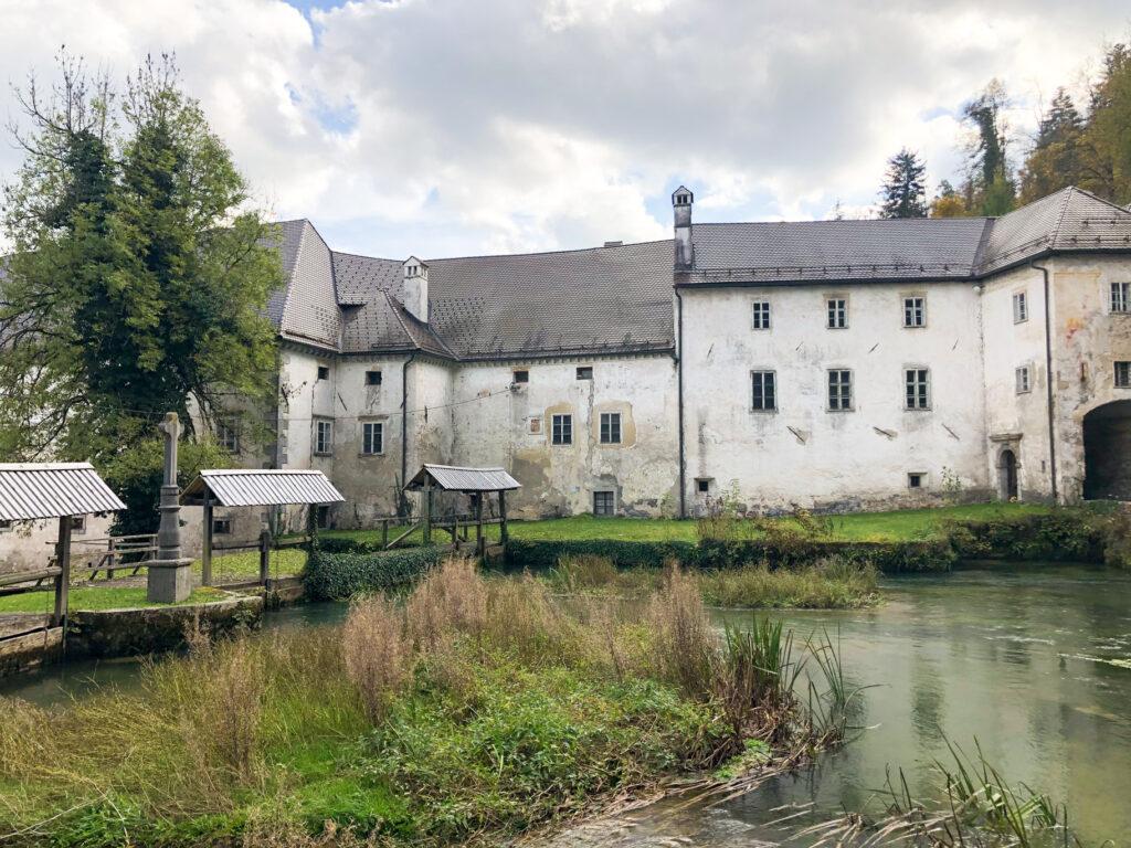 Bistra Castle spring Ljubljanica river  Slovenia Europe