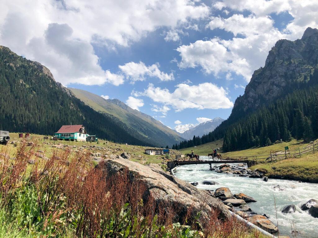 Altyn-Arashan Karakol Kyrgyzstan Central Asia