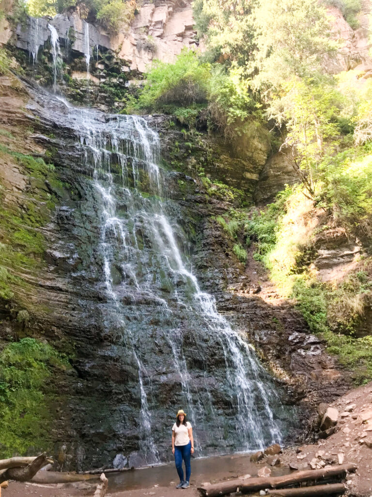 Waterfall Vanja Vodenik Kok-Jayik Valley Karakol Kyrgyzstan Central Asia